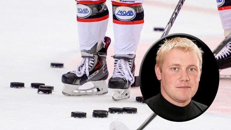 Ishockeyförbundets tävlingschef Olof Östblom.