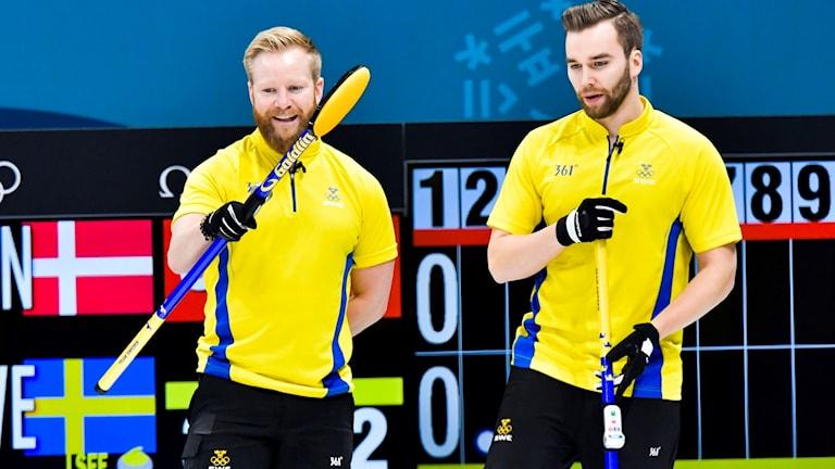OS 2018. Niklas Edin och Oskar Eriksson.