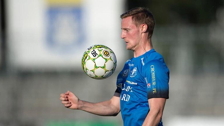 Trelleborgs Anton Tideman.