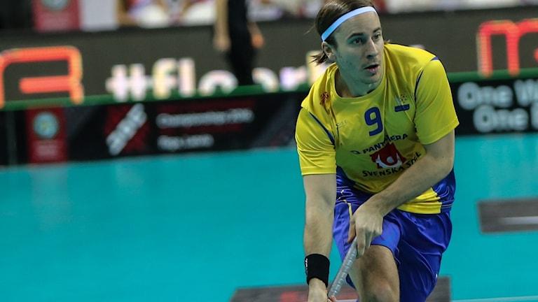Sveriges Alexander Galante Carlström.