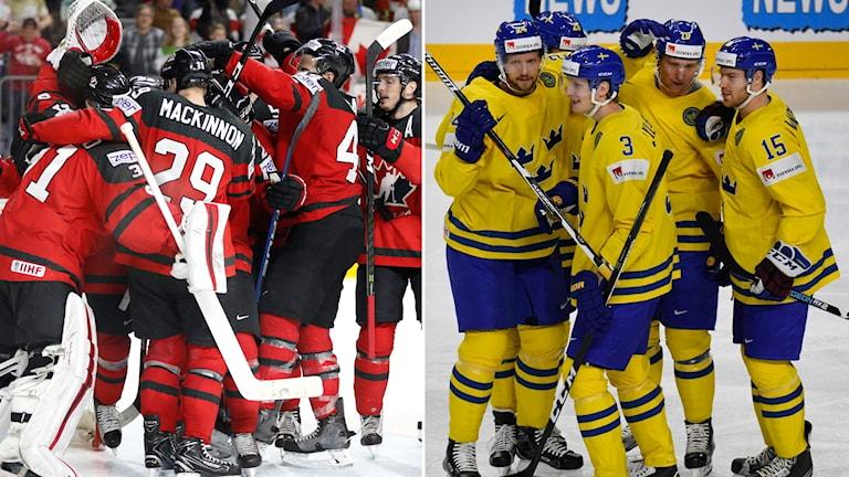 Kanada och Tre Kronor i VM-final.