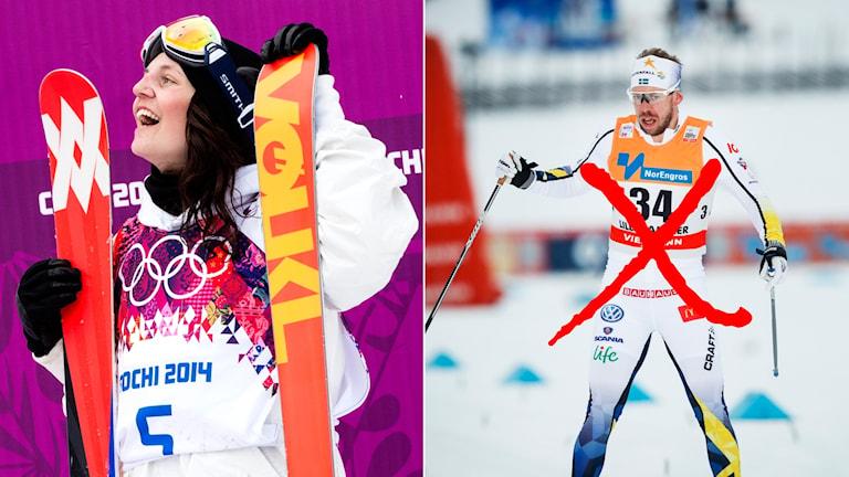 Emma Dahlström och Emil Jönsson.