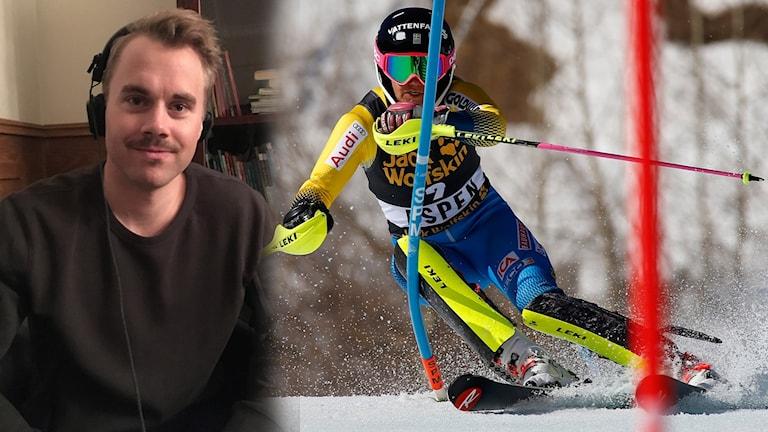 Matts Olsson och Frida Hansdotter
