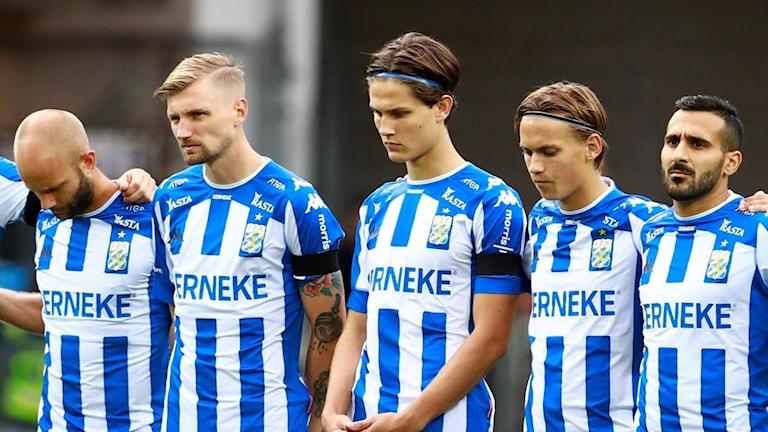 Rasmus Wikströms startdebut i allsvenskan blev bara några minuter lång.