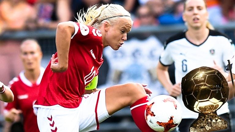 Pernille Harder lär vara en av de aktuella till Ballon d'Or.