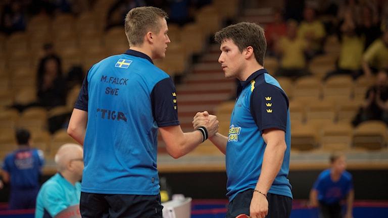 Mattias Falck och Kristian Karlsson