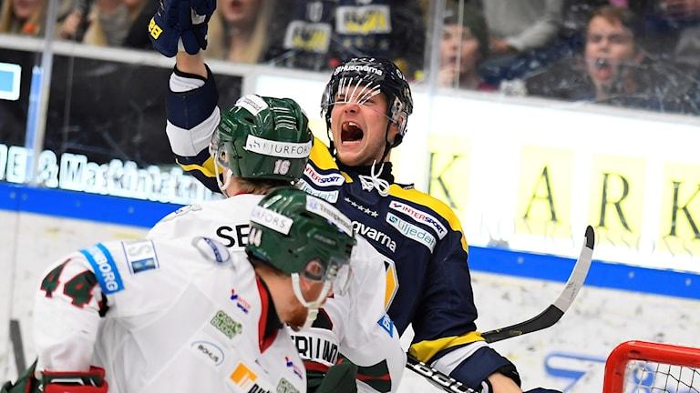 Max Wärn avgjorde mot Frölunda.