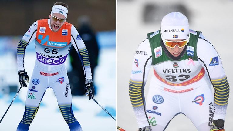 Viktor Thorn (t.v.) och Calle Halfvarsson.