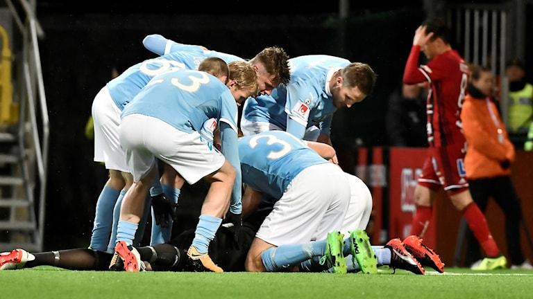 Malmö FF fick med sig 2–2 mot Östersund.