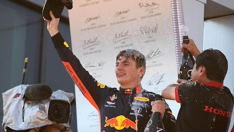 20190630 Österrikes GP som Max Verstappen vann. Foto: Ronald Zak/TT