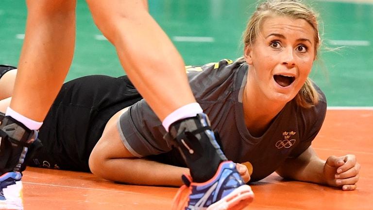 Handbollsstjärnan Isabelle Gulldén reagerade med chock när hon fick veta att hon är en av de 15 kandidaterna till Jerringpriset 2016.