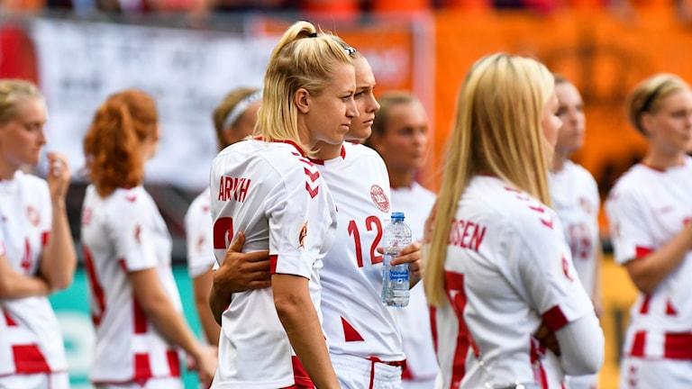 Danska spelare.