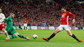 Zlatan Ibrahimovic kan lämna Manchester United.