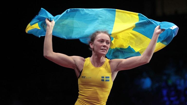 Fredrika Petersson tog brons på EM i Serbien 2017.