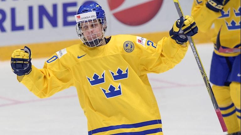 Joel Eriksson Ek var given i den svenska JVM-truppen.