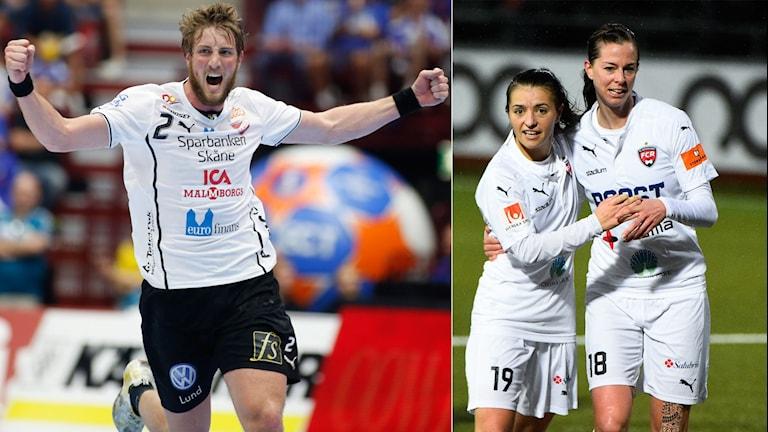 Lugi och Rosengård är två lag vi håller koll på i kväll.