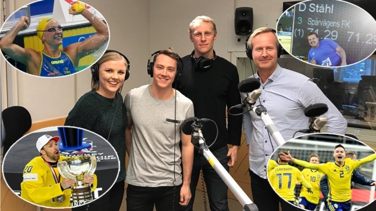 Petra Svensson, Alexander Lundholm, Richard Henriksson och Magnus Wahlman.
