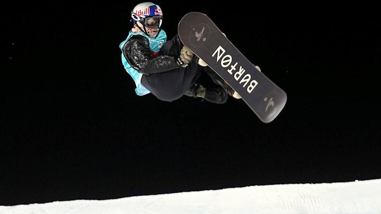 Kanadensiske snowboardstjärnan Mark McMorris.