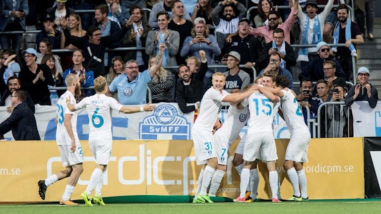 Malmö avgjorde sent borta mot Djurgården.