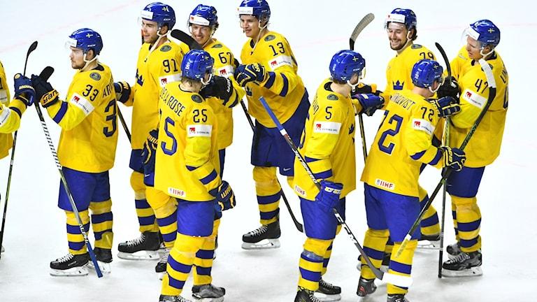 Tre Kronor vinner