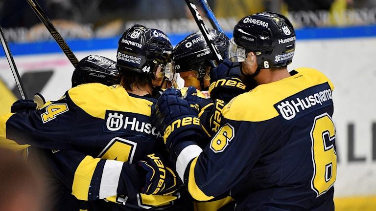 HV71 vann första semifinalen