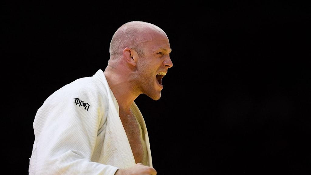 Marcus Nyman säkrade sin första VM-medalj någonsin.