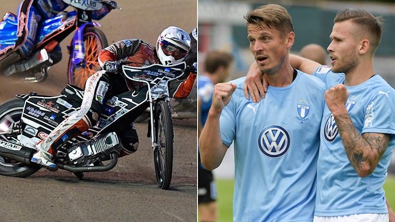 Smedernas Linus Eklöf och Malmö FF.