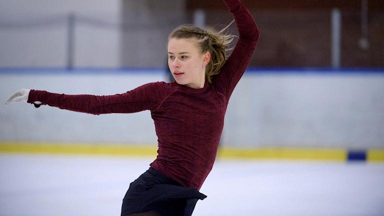 Matilda Algotsson blev nia i italienska Bergamo.