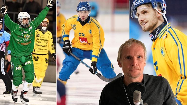 Jesper Jonsson, Christoffer Fagerström och Simon Jansson är de tre elitseriespelarna som Göran Rosendahl är mest nyfiken på.
