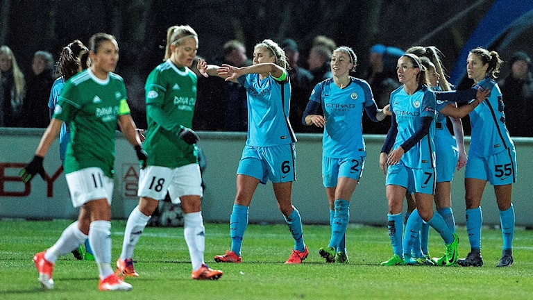Manchester City besegrade Fortuna Hjørring