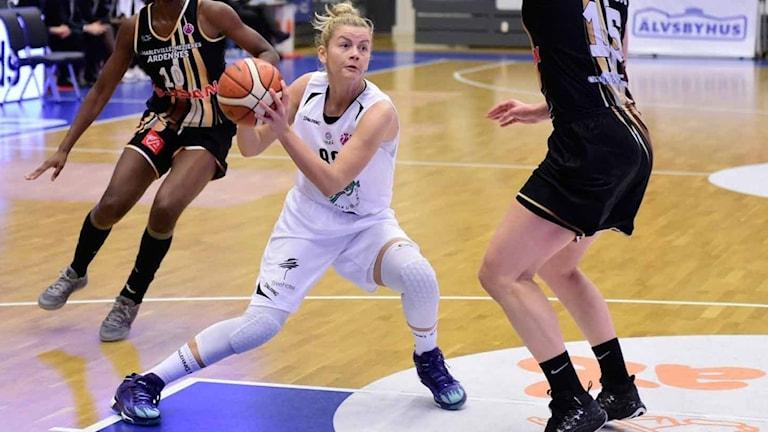 Luleå baskets Jelena Antic.