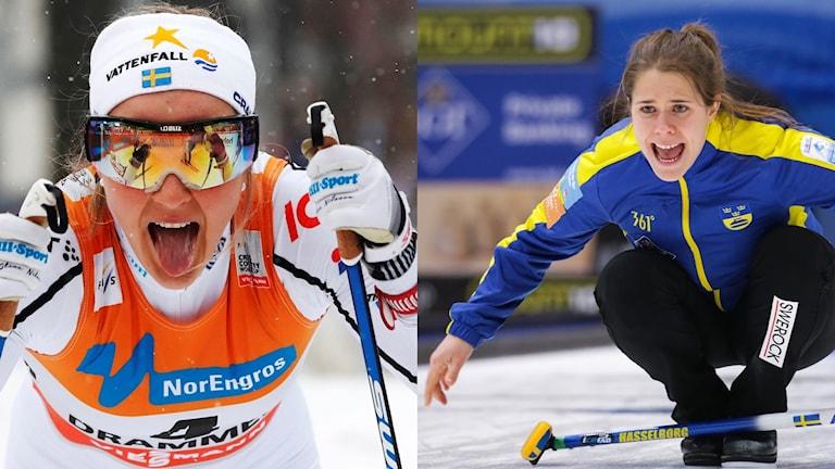 Stina Nilsson och Anna Hasselborg.