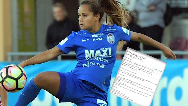 Eskilstuna United söker en ny tränare och sportchef, med hjälp av en rekryteringsfirma och platsannons.