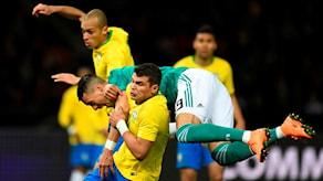 20180327 Tyskland-Brasilien Thiago Silva