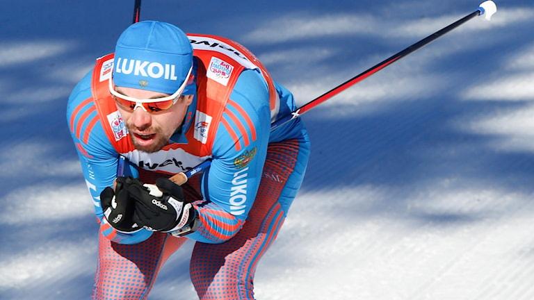 Sergej Ustiugov ser ut att missa OS.