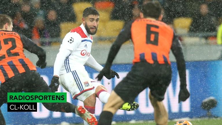 Fotboll CL Shakthar-Lyon 2048