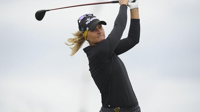 Anna Nordqvist slutade sjua i British Open.