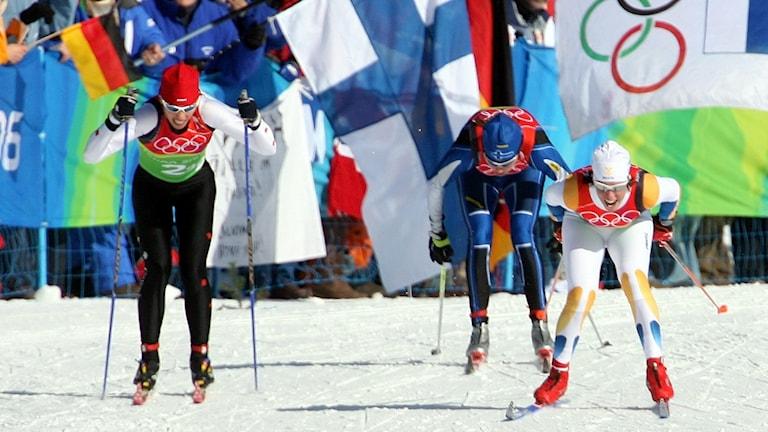 OS 2006 Lina Andersson teamsprinten