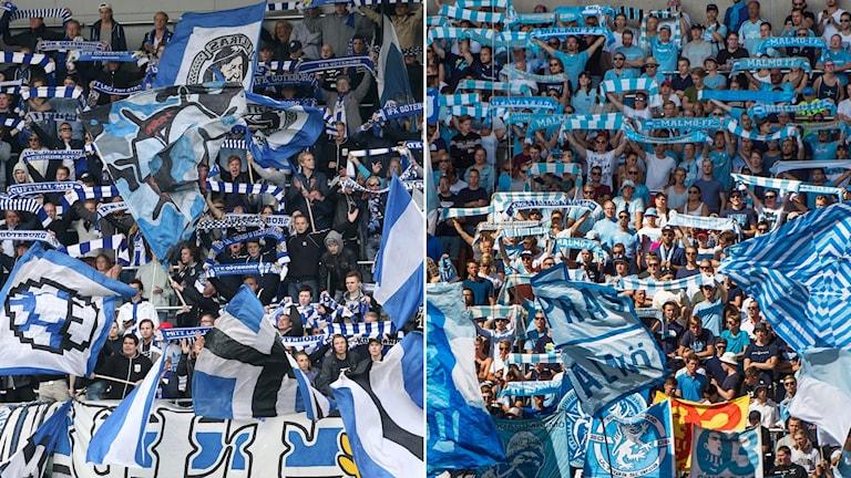 IFK Göteborg och Malmö FF.