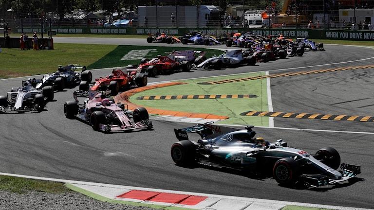 Formula 1. Foto: Luca Bruno/TT