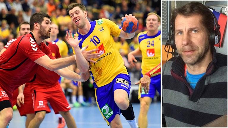 Magnus Wislander hyllar Sveriges insats.