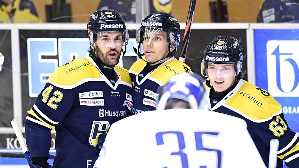 HV71 vann efter elva raka förluster.