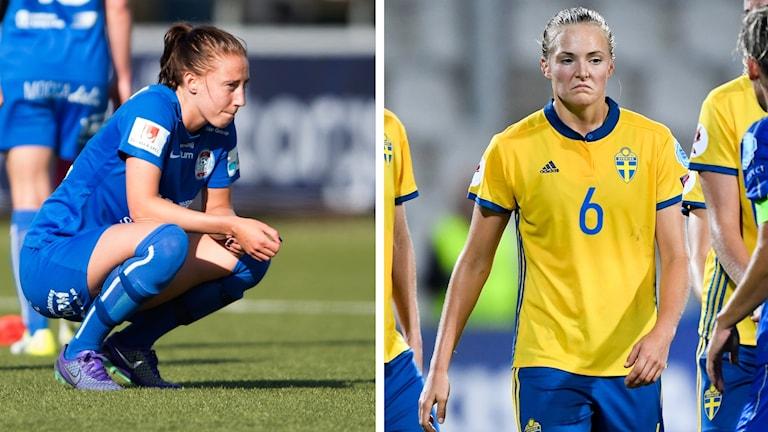 svenska avbräck inför VM-kvalet