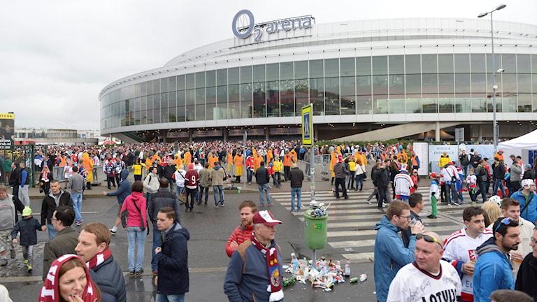 Sparta Prag försökte köpa CHL-finalen till O2 Arena i Prag, men det gick Frölunda inte med på.