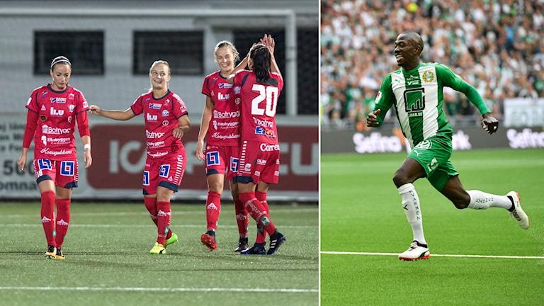 Linköping och Hammarby spelar båda i dag.