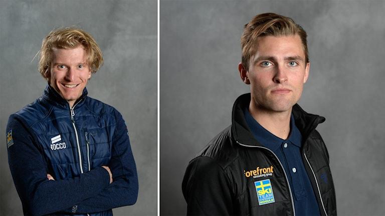 Viktor Andersson, skicross, och Ludvig Fjällström, puckelpist.