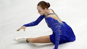 anita östlund föll i finalen i det fria programmet på EM i Moskva.