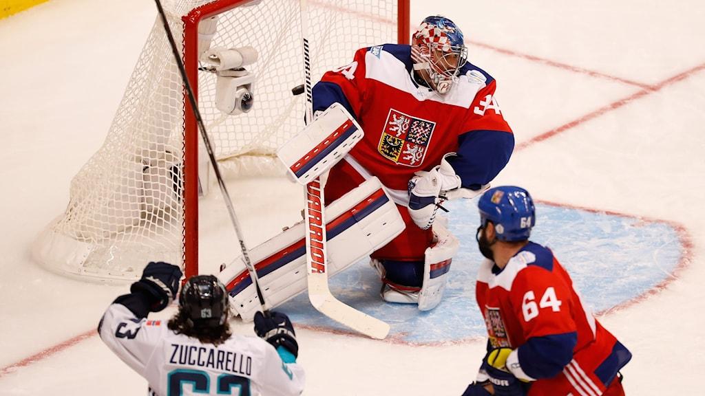 Mats Zuccarello avgjorde för Europa mot Tjeckien.