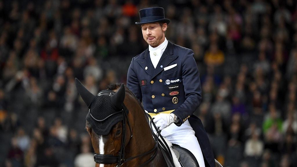 Patrik Kittel med hästen Well Done.