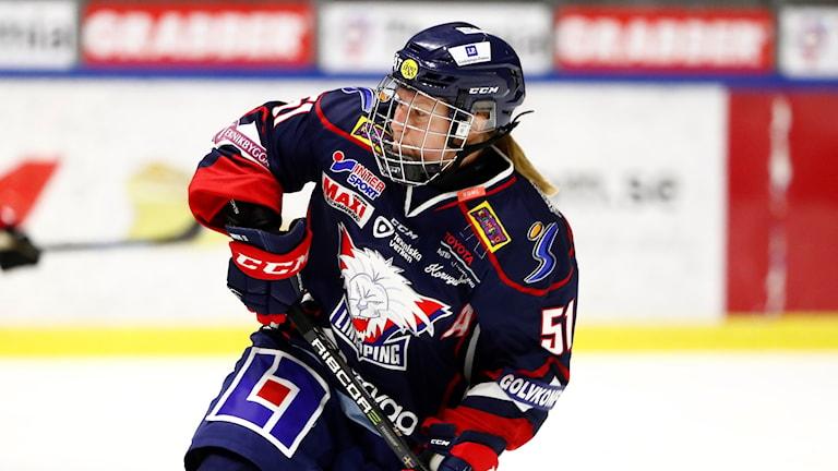 Linköpings Pernilla Winberg. Arkivbild.
